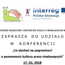 Konferencja 17 lutego 2018