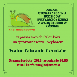 Walne zebranie – marzec 2018