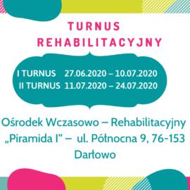 Turnus rehabilitacyjny 2020